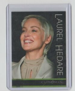 Details About Catwoman Movie Trading Card 5 Sharon Stone As Laurel Hedare