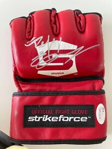 Fedor Emelianenko signed Official Strikeforce gloves MMA Pride UFC auto JSA CoA