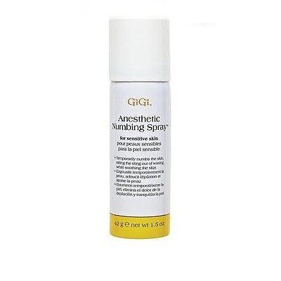 GiGi Anesthetic Numbing Spray - 1.5oz / 42g - For Sensitive Skin
