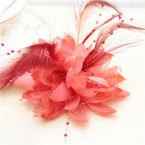 12PCS Pretty silk rose wrist corsage brooch or bracelet with prom wedding flower