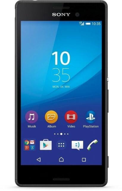 Sony Xperia M4 Aqua E2303 8gb Schwarz Ohne Simlock Smartphone Acquisti Online Su Ebay