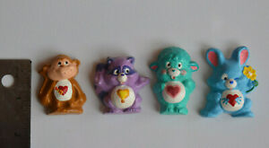 WOW-Set-of-4-Care-Bear-Cousin-MAGNETS-from-Vintage-1980s-Mold-HAND-PAINTED-1-5-034