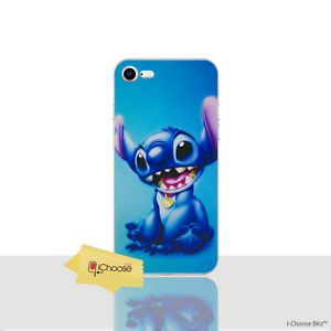 Lilo-amp-Stitch-Case-Cover-Apple-iPhone-7-4-7-034-Screen-Protector-Gel-Stitch
