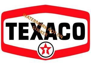 VINTAGE-TEXACO-GASOLINE-PETROL-DECAL-STICKER-LABEL-LARGE-240mm-HOT-ROD-BOWSER