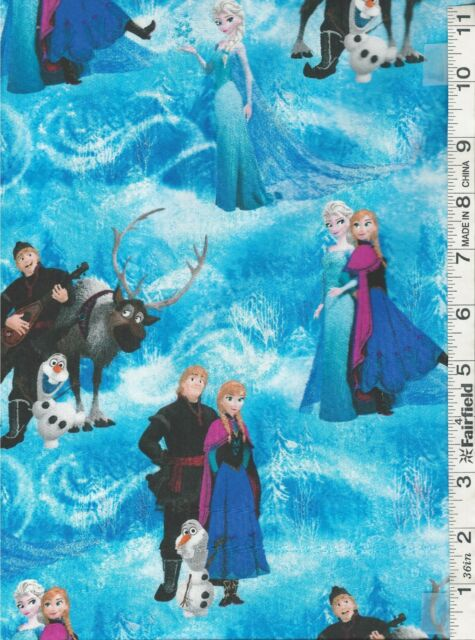 Disney Frozen Quilt Panel & Coordinating Fabrics by Springs Creative bty