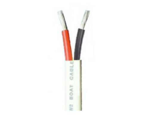 Black  $2.84 per foot 6//2 AWG Duplex Tinned Marine Cable Red