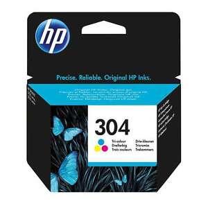 Genuina-HP-304-Tri-Color-Tinta-cartiridge-para-HP-Deskjet-3720-3730-3732-Iva-Inc