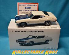 1:18 Biante - Ford XA Falcon Superbird - Polar White W/ Cosmic Blue Accent