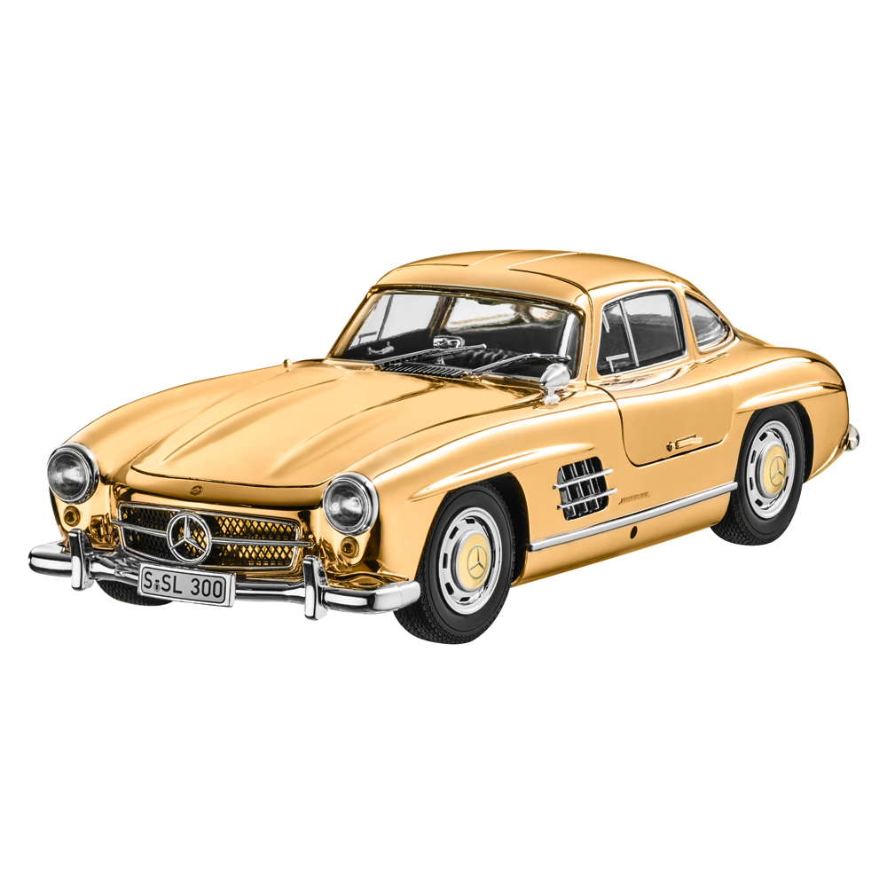 MERCEDES-BENZ 300 SL COUPE W198 1954 CLASSIC Gold EDITION LTD 1,954 1 18 NEW OVP