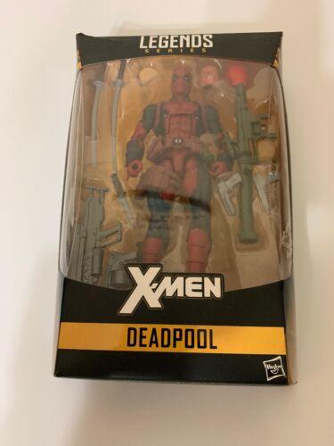 Marvel Legends SERIES X-Men Deadpool construire une figure géant-Boîtier Endommagé