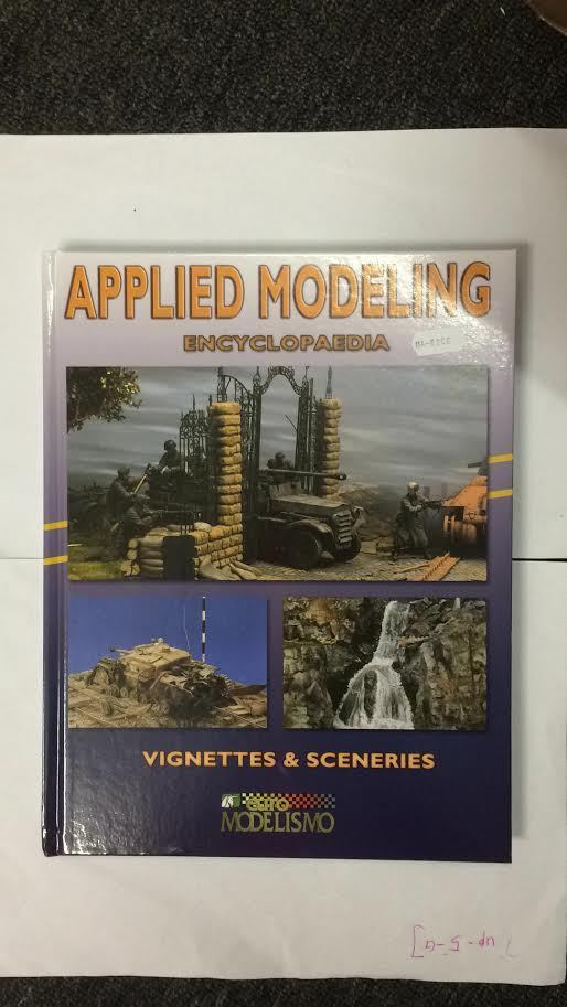 Euro Modelismo Colour Book - Applied Modeling-Vignettes and Sceneries (English)