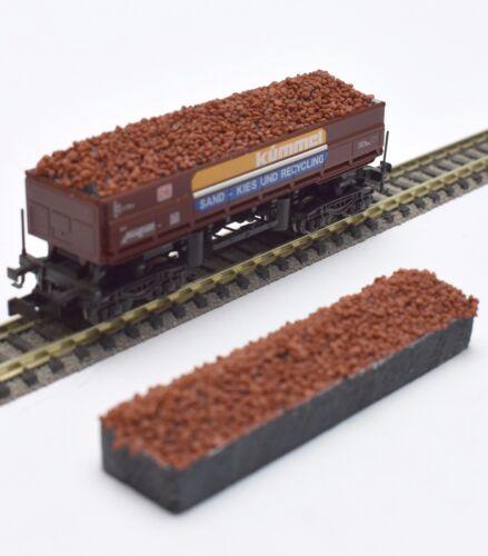 233 Minitrix Spur N Ladegut Schüttgutwagen Fas 126 15265 15208 15209 15245 Erz