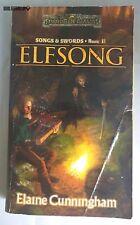 ELFSONG Elaine Cunningham Book 2  Forgotten Realms Dungeons & Dragons Book WotC