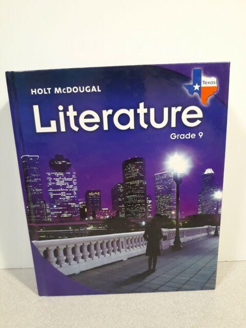 Holt Mcdougal Literature Texas Student Edition Grade 9 2010 2009 Hardcover