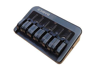 Babicz Full Contact Hardware Fixed 6 Hardtail Guitar Bridge Gold