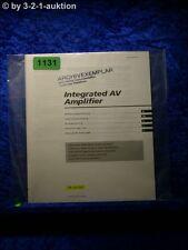 Sony Bedienungsanleitung TA AV561 Stereo Amplifier  (#1131)