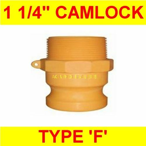 CAMLOCK NYLON TYPE F 1 1/4 CAM LOCK IRRIGATION FITTING