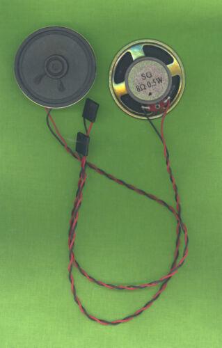 10 pièces pc Boîtier Haut-parleur sg 0,5 w 8 ohm pour par exemple FSC p5605 ø 5,64cm