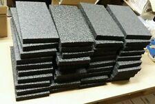 "40 Sheets - 6"" x 12"" x 1"" POLYETHYLENE PLANK FOAM, Density 1.7pcf BEST PRICE PE"