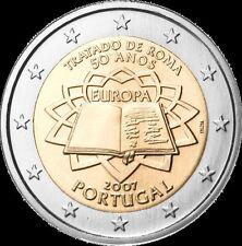 Portogallo 2007  2 € commemorativo   FDC  ToR