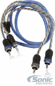 NVX-XIV21-1m-3-28-ft-2-Channel-Twisted-Pair-RCA-Audio-Interconnect-Cable