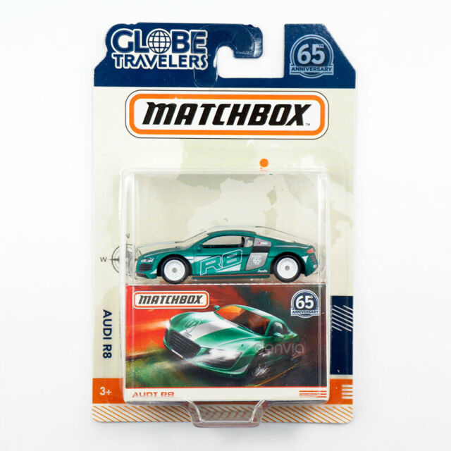 Matchbox Globe Travelers Audi R8 Die Cast