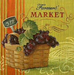 Angela-Staehling-farmers-Market-Vintage-pre-image-30x30-Vegetable-Fruit-Wall-Picture