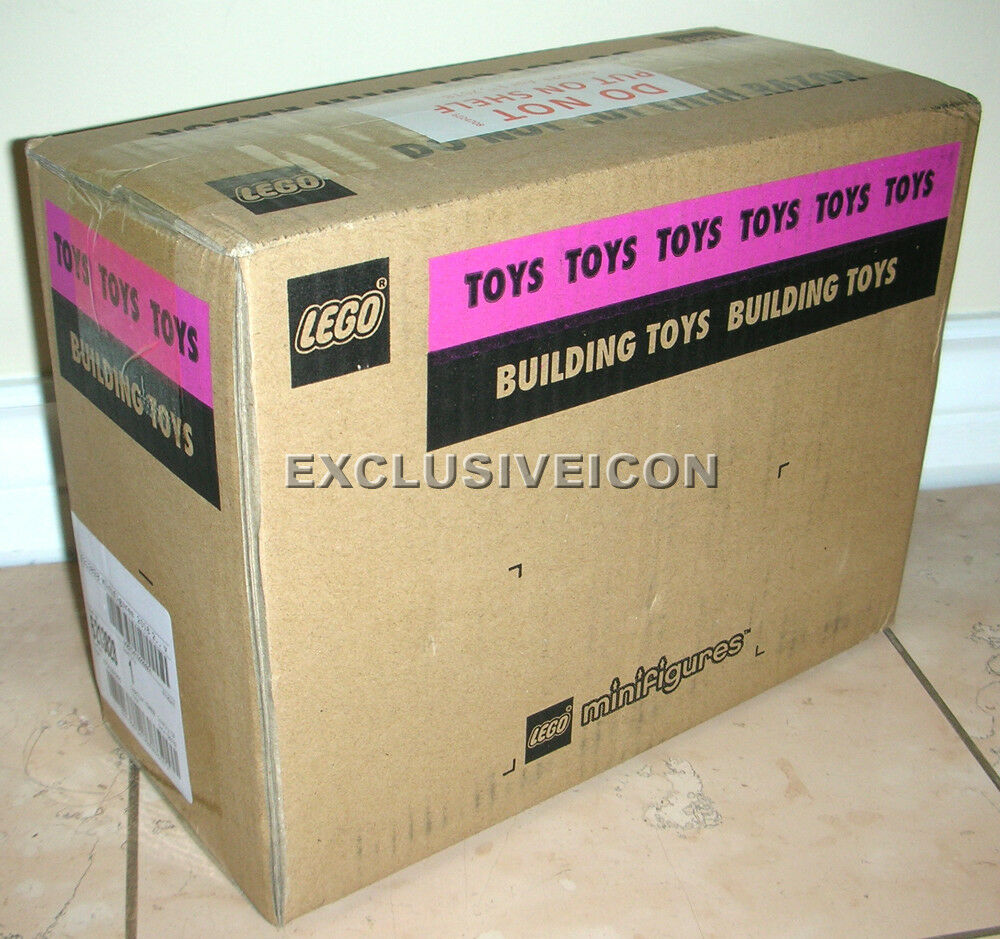 LEGO Minifigures 71021 Series 18 Party Sealed in Brown Box Box Box Case of 60 Canadian 3e4844