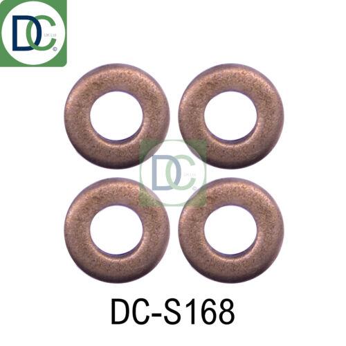 4 X Diesel Injecteur Rondelles//Joints-Common Rail Injecteurs Dans KIA SEDONA 2.9 TD