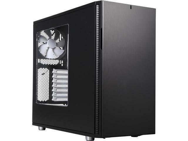 Fractal Design Define R5 Black Window Silent ATX Midtower Computer Case