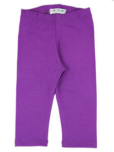 Vivian-039-s-Fashions-Capri-Leggings-Toddler-Girls-Cotton