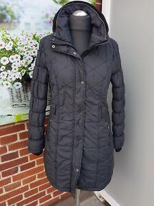 Damen Winter Yessica Zu Top Details Gr38 Mantel Parka Schwarz Kapuze Stepp drWxBoeC