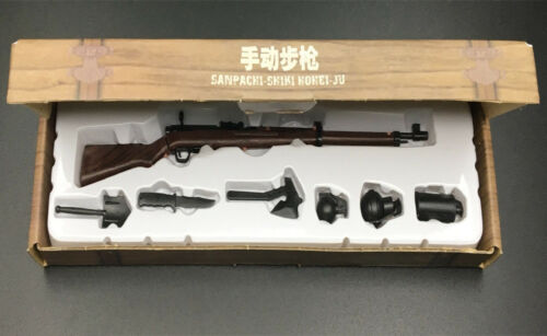 1:6 Scale Battle GUN WWII Weapon Toy Model Sanpachi-shiki hohei-ju 38Rifle