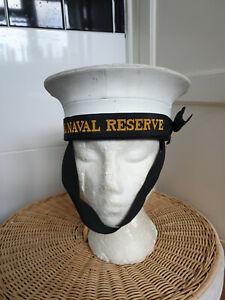Genuine British Royal Navy RN Sailors Pork Pie Hat Class II All Sizes NEW