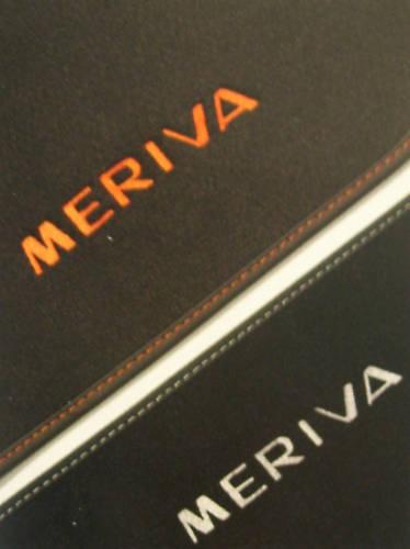 Opel Fussmatten Meriva-B Velours schwarz 1722006 93199893