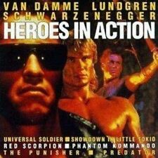 Heroes in Action (1992) Van Damme, Lundgren, Schwarzenegger [CD]
