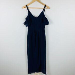 Wayne-Cooper-Events-Womens-Formal-Dress-Size-6-Evening-Dress-Dark-Blue-Gorgeous