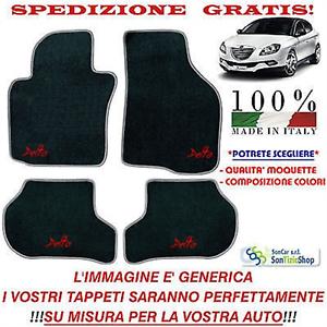Tappeti Lancia Delta 3^serie,Tappetini Auto Personalizzabili,Vari Colori,Qualità