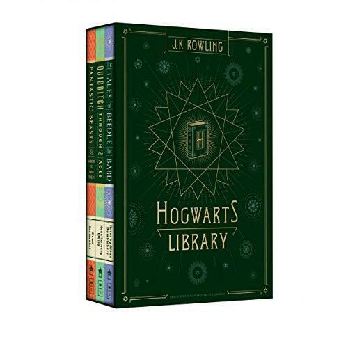 Harry Potter Hogwarts Library By J K Rowling Hardcover 2017
