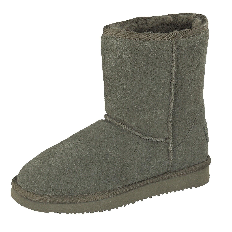 BLK1978 para mujeres Zapatos Zapatos Zapatos De Invierno botas de corte alto 264-533 Piel De Cordero Acolchado Color Caqui Nuevo  comprar nuevo barato