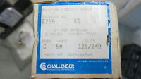 50 AMP Challenger 2 Pole or Double HACR Type C Breaker Building Supplies