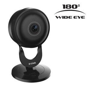 2-pack-D-Link-DCS-2630L-Full-HD-180-Degree-Wi-Fi-Camera-Black