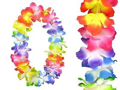 Hawaiiketten Blumenkette Hula Deluxe HKm-02 Hochwertige Hawaii Kette Multicolour