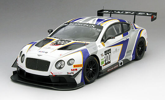 True Echelle Bentley GT3 200 British GT Génération BENTLEY Racing 2014 1/18