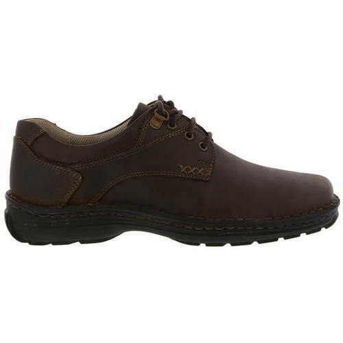 Hush Puppies Geography  Uomo Braun Lace Up Wide UK Fit Leder Schuhes Größe UK Wide 6-14 24a982