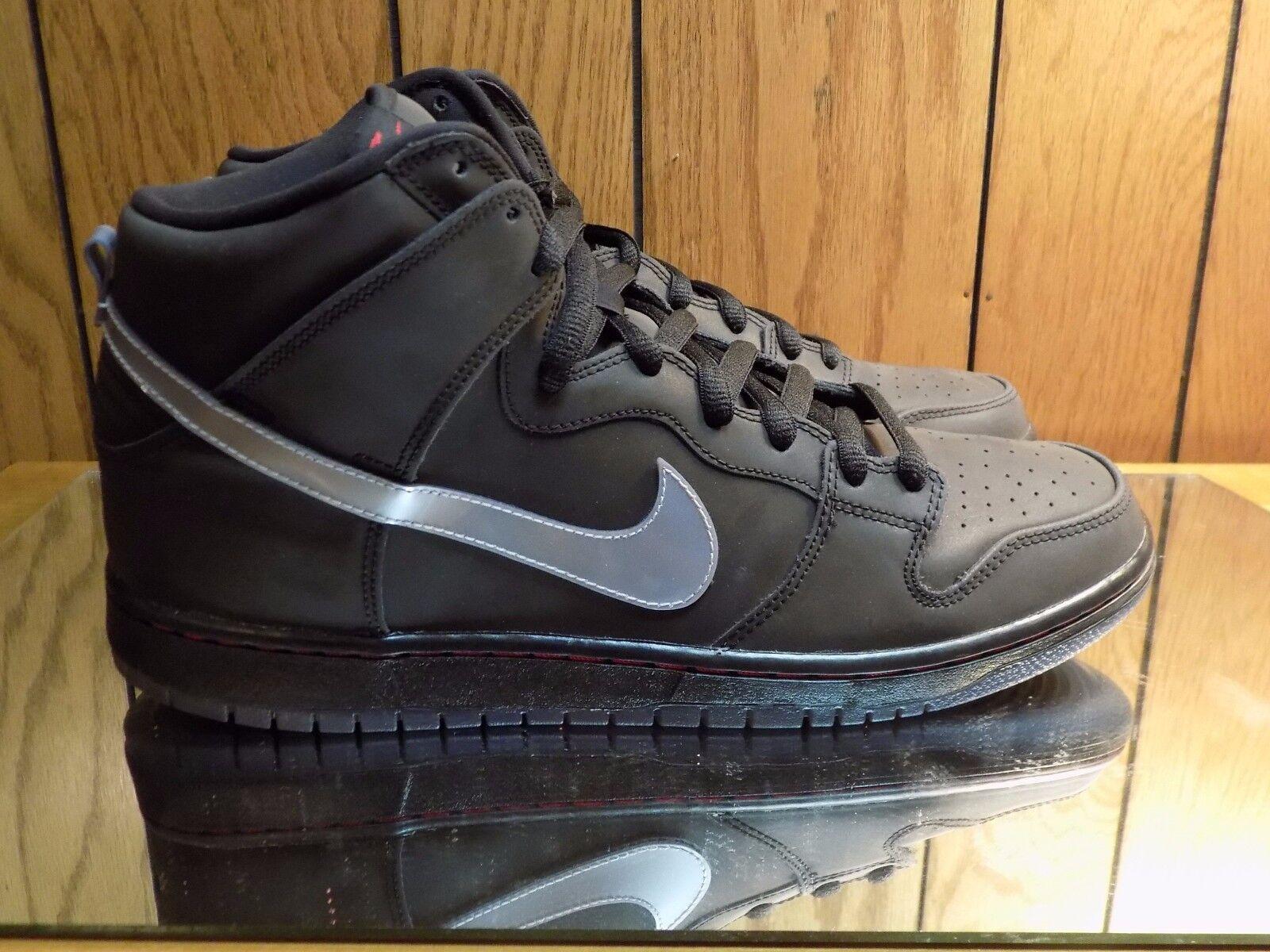 New DS Nike Dunk High SB QS Quickstrike Raging Bull 3M Black s. 14 sneaker