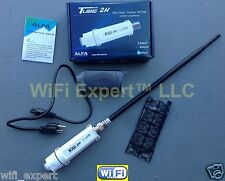 ALFA PoE TUBE 2H + 9dBi Outdoor Antenna Long Range Booster GET FREE INTERNET USA