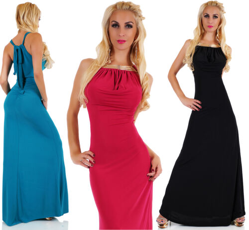 Sexy maxi lang robe cascade soir PpP4qwrx8
