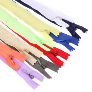 Nylon-Invisible-Zippers-Clothing-Handcraft-Apparel-Accessories-Sewing-Tool