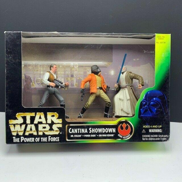 Evazan Star Wars Power of the Force Cinema Scenes Cantina Showdown with Dr
